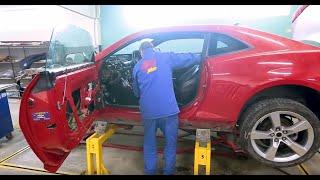 CHEVROLET CAMARO PROJECT- ПОЛНОЕ восстановление автомобиля после ДТП. Серия четвертая: Шумоизоляция