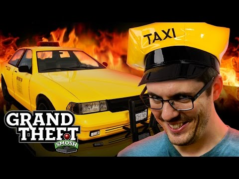 TAXI RIDE FROM HELL (Grand Theft Smosh)