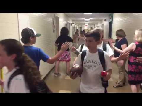 Hanlon School Class of 2017 clap out
