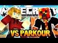 Minecraft Lachlan Vs Preston Parkour! (Lava & Water Parkour)