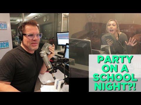 In-Studio Videos - Party On A School Night?!?!