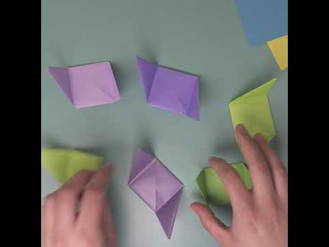 The Creation Station & Guinness World Records Origami Square