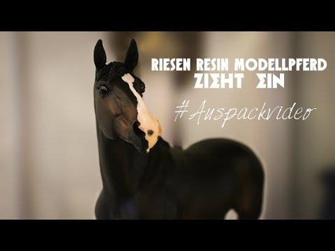 Riesen Resin #Modellpferd zieht ein 😍 | FULL HD !