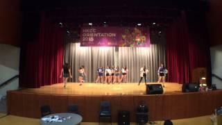 hkcc 10th dance society xense orientation week performance