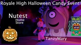 Nutest Halloween Candy Event Royale High, Candy Locations - Easy to Follow - 2019!