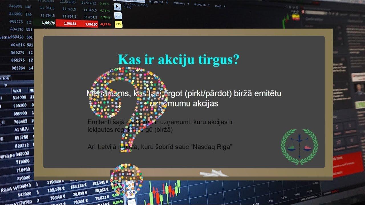 akciju tirdzniecības demo programmatūra
