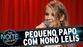 The Noite (22/10/15) - Pequeno papo com Nonô Lelis