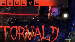 EVOLVE TORVALD GAMEPLAY - Torvald teilt gut aus - Evolve Gameplay German