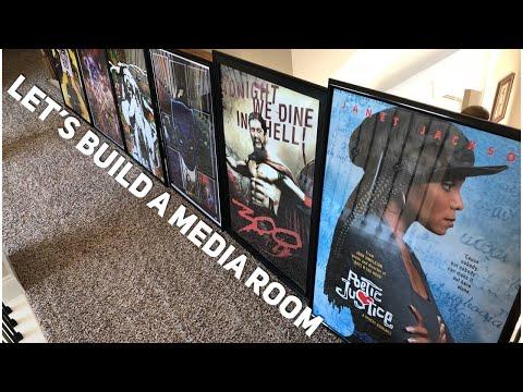 Let's Build A Media Room On A Budget Pt 1