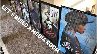 Let's Build A Media Room On A Budget Pt 1