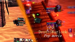 Destruction warlock pvp montage 3.3.5 Horribleqt playing on wowcircle.com Lock arena 2500+ exped