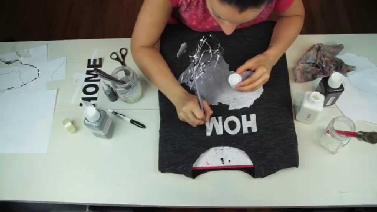 Diy Custom Hand Painted T Shirt By Jessica Valoise Ex Khacijay Mama Africa You
