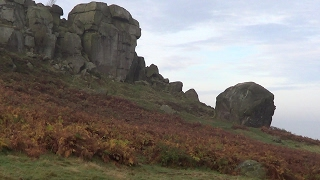 The Solitary Rambler 70: Inspiration of Ilkley (Ilkley Moor and Cow and Calf Rocks)