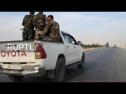 Syria: US troops