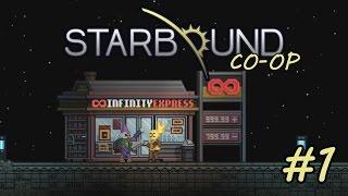 La fibra es buena para el tránsito lento - Starbound 1.1 - Co-op [P1]