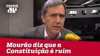 Mourão diz que a Constituição é ruim – e concordo, mas precisa debater | Marco Antonio Villa