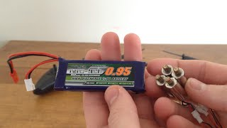 Dromida Ominus Battery and Motor Upgrades Review and Flight