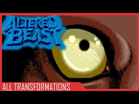 Altered Beast - All Transformations || Altered Beast (Arcade)