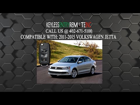 How To Replace Volkswagen Jetta Key Fob Battery 2011 2012 2013 2014 2015