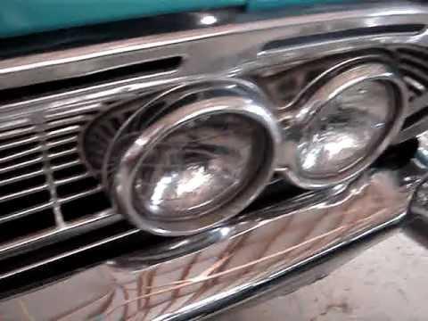 1961 DODGE SENECA 4-DOOR SEDAN --  SCULPTED METAL AGAIN BY CHRYSLER CORP.