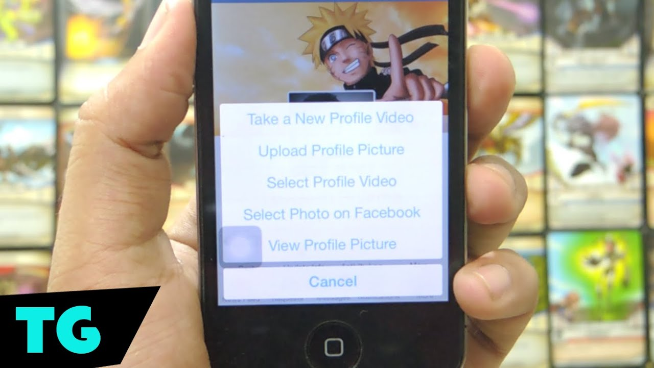 how to upload profile pic on facebook