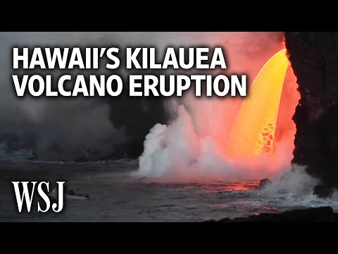 Lava Pours Steadily From Hawaii