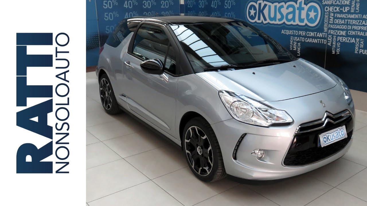 interni citroen ds3 coup so chic 1 2 puretech 82cv benzina youtube. Black Bedroom Furniture Sets. Home Design Ideas