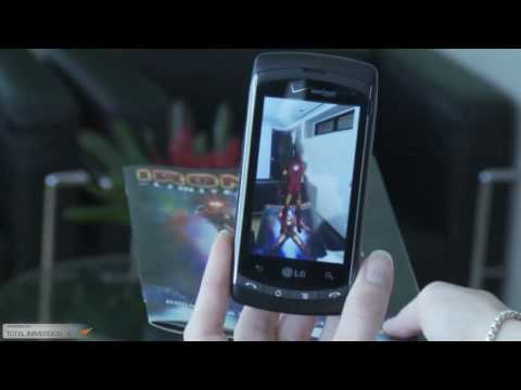 LG Ally Iron Man 2 Augmented Reality Experience MLT on Android