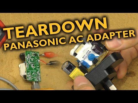 Panasonic camera charger - Teardown/test/hack