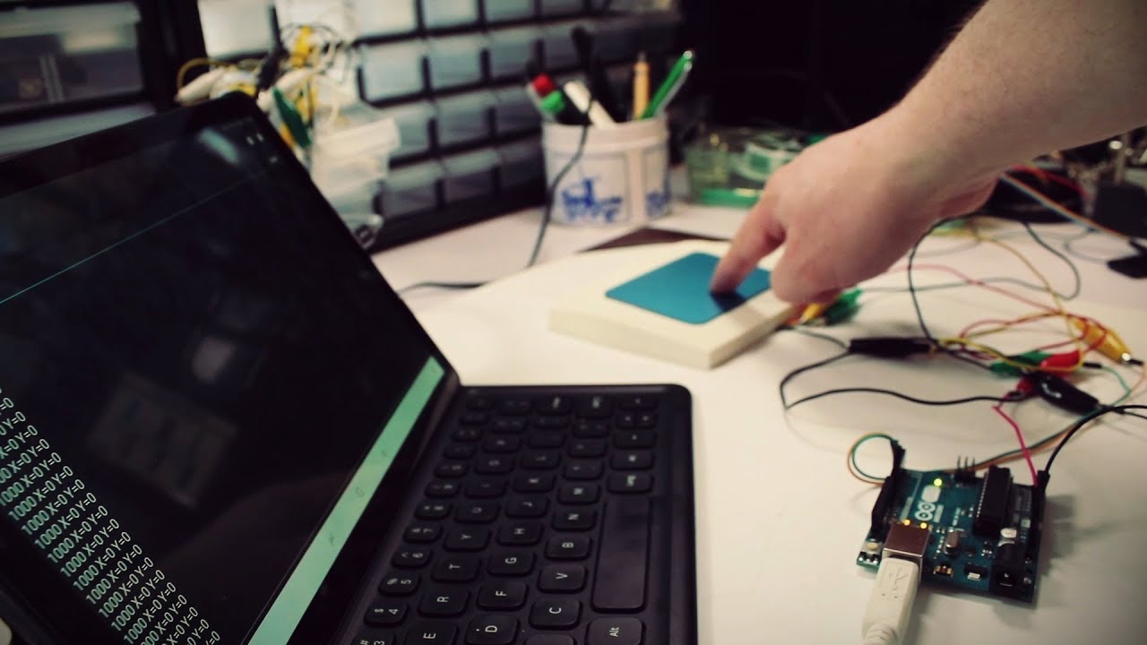 Things To Do With A Broken Laptop: Touchpad Hacking (part 1)