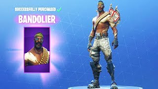*NEW* BANDOLIER LEGENDARY SKIN | Fortnite: Battle Royale