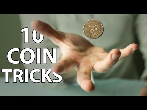 10 IMPOSSIBLE Coin Tricks Anyone Can Do | Revealed