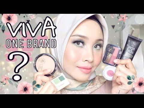 VIVA QUEEN COSMETICS ONE BRAND TUTORIAL + FIRST IMPRESSION & REVIEW