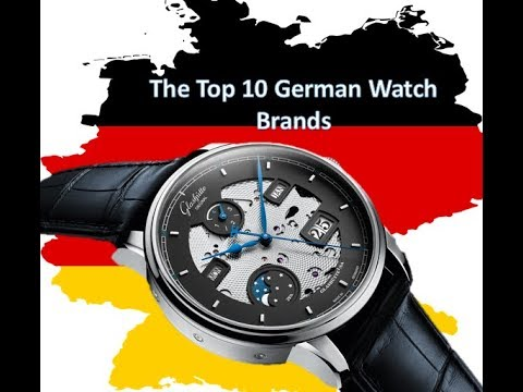 The Top 10 German Watch Brands - The Swiss Shouldn't Get All The Credit!
