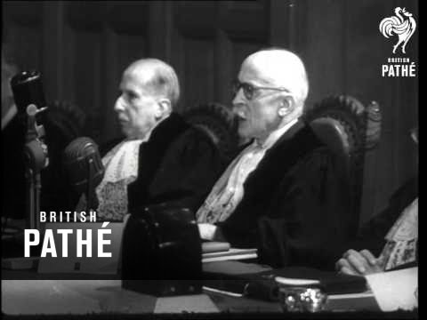 International Court Discuss Persian Crisis  (1951)