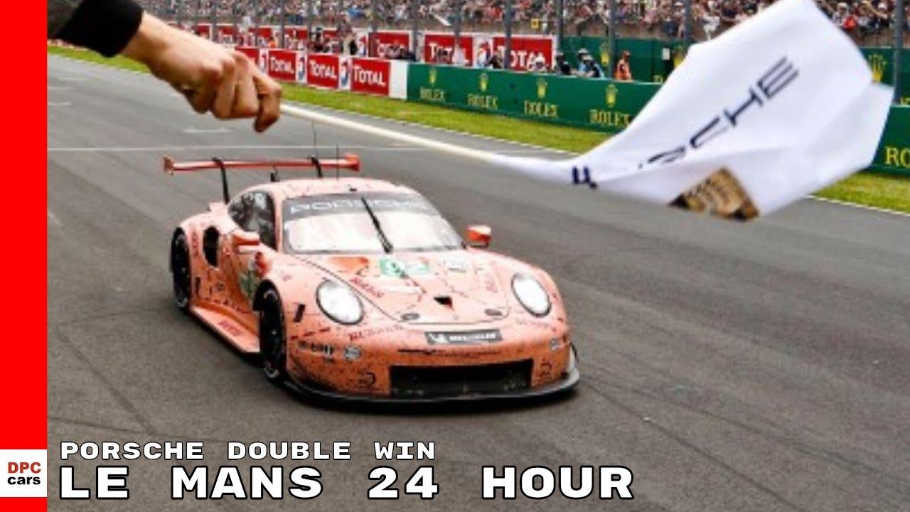 Porsche Celebrates Double Win At Le Mans 24 Hour