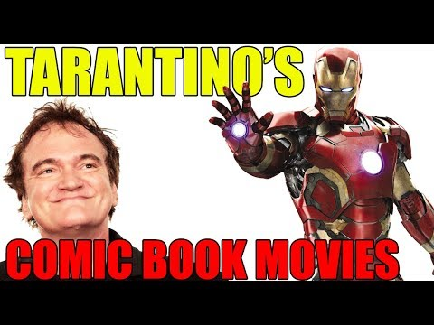 Quentin Tarantino's Many Comic Book Movies He Almost Made