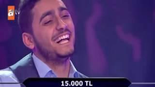 Kim Milyoner Olmak İster ? - Kafadan Atarak 15.000 TL Değerindeki Soruyu Biliyor ! (Komedi)