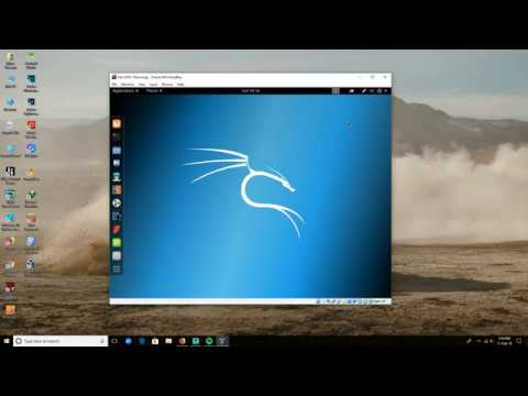 how to download kali linux virtualbox