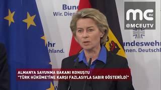 Haber | Alman Savunma Bakanı'ndan kritik Türkiye açıklaması