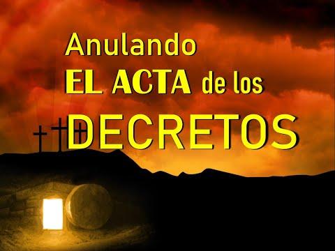ANULANDO EL ACTA