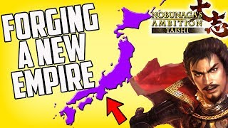 Forging A New Empire! Nobunaga's Ambition Taishi Gameplay