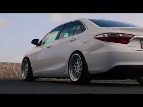 2016 Camry On Coilovers Youtube
