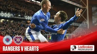 Rangers beat Hearts on Cathro's debut