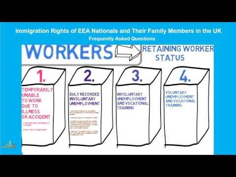 European Economic Area Nationals, Qualified Persons: RETAINING WORKER STATUS