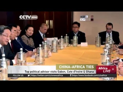 China's top political advisor visits Gabon, Cote d'Ivoire & Ghana