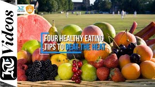 Do you feel lethargic during summer? here are some healthy eating tips to beat the heat in uae. (video by nilanjana gupta), whatsapp news alerts: www.khaleejtimes.com/whatsapp, watch more at ...