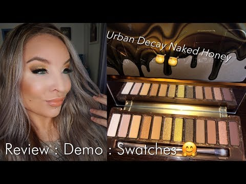 Urban Decay Naked Honey Eyeshadow Palette : Review : Demo : Swatches thumbnail
