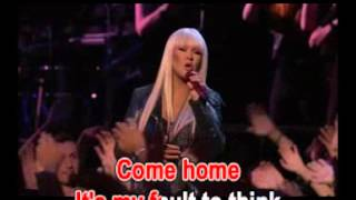 Just A Fool - Christina Aguilera & B(Karaoke)