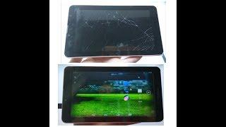 Как починить экран планшета в домашних условиях. Supra M725G